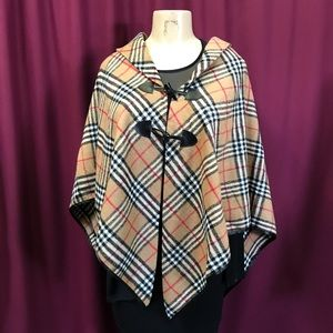 Sweaters - Burberry Style Cape